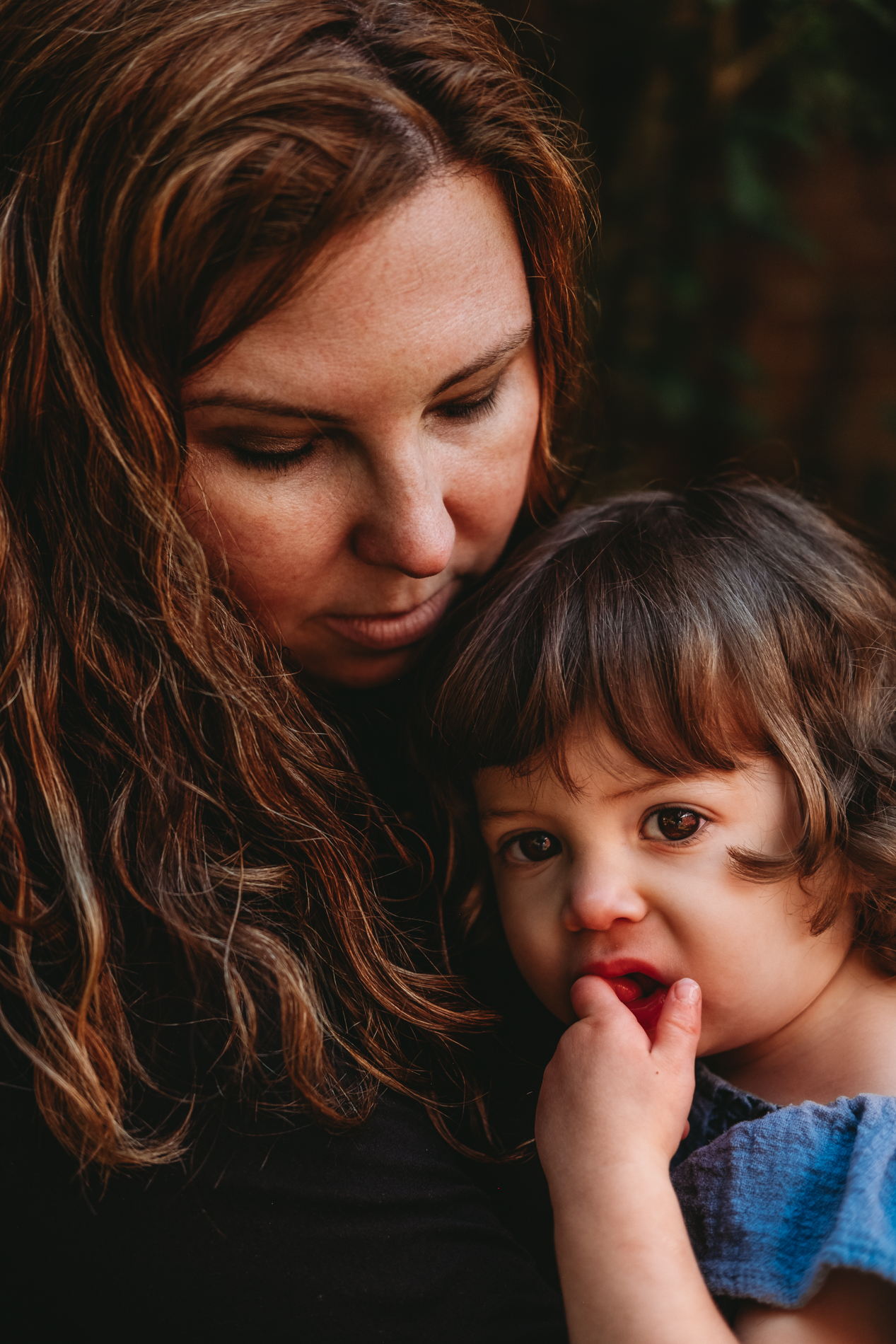 Best Maternity and Newborn Photographer Washington DC portrait of mother with daughter toddler girl
