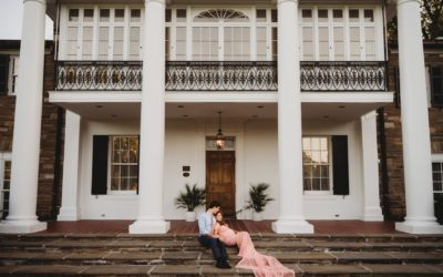 Rockville, MD Outdoor Formal Maternity Photography Session